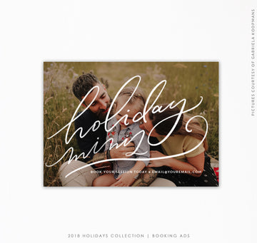 Booking Ad Holiday Collection |  Jolly Minis