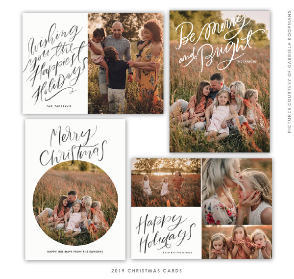 2019 Christmas 5x7 Photo Card Bundle | Classical Dreams