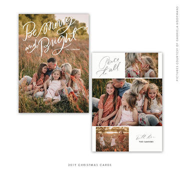 Christmas 5x7 Photo Card | Bright Everything