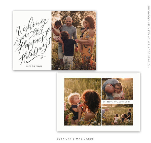 Christmas 5x7 Photo Card | Family Light