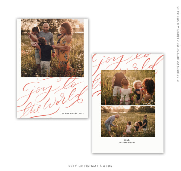 Christmas 5x7 Photo Card | Jesus Joy