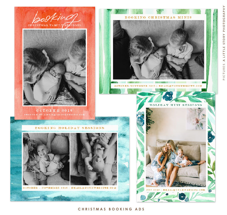 Booking Holiday Ads Bundle | Booking Joy
