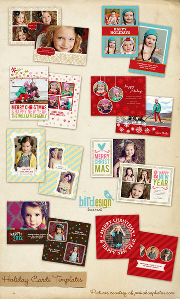 Holiday Photocards Bundle | Deluxe Christmas