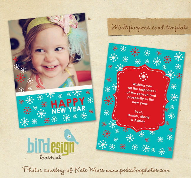 Holiday Photocard | Smiles