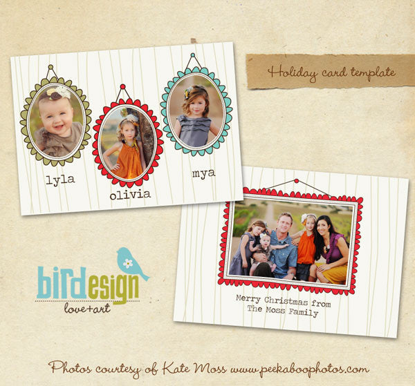 Holiday Photocard | Portraits