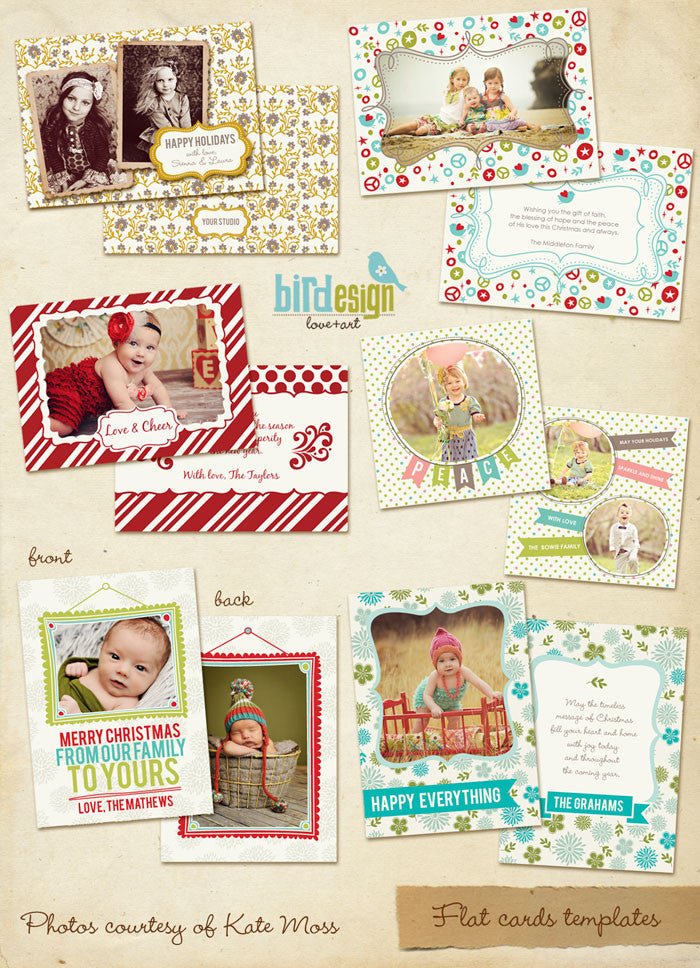 Holiday Photocards Bundle | Holly Jolly
