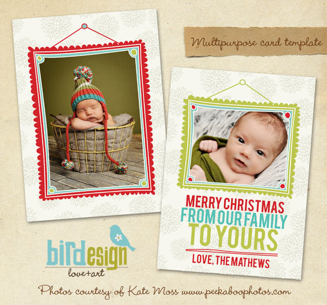 Holiday Photocard | Little Merry