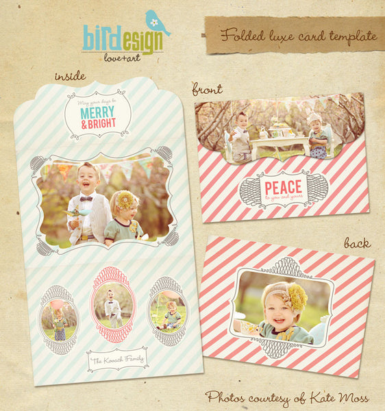 Holiday Ornate Photocard  | Have fun