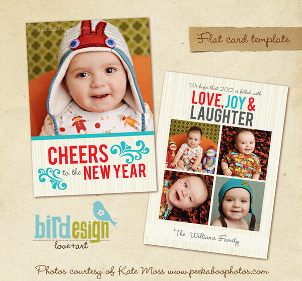 Holiday Photocard | New Cheers