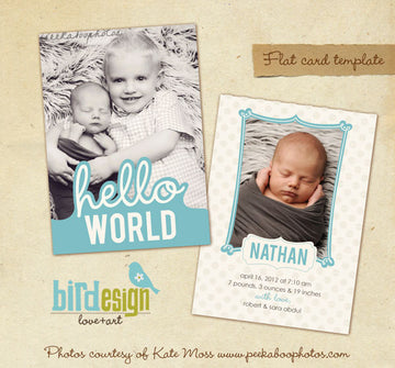 Birth Announcement | Brothers