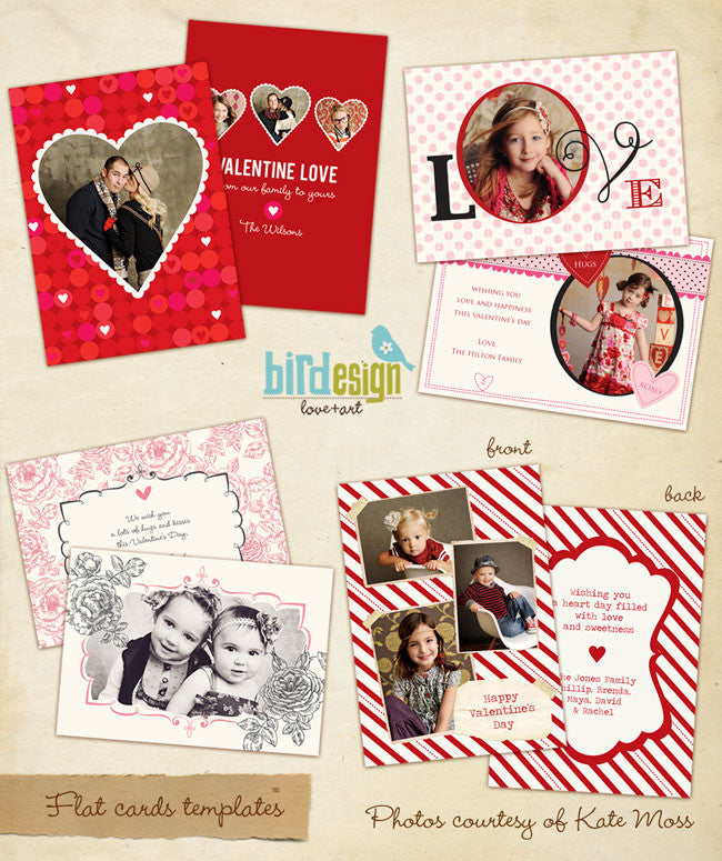 Valentine Photocards Bundle | Be mine