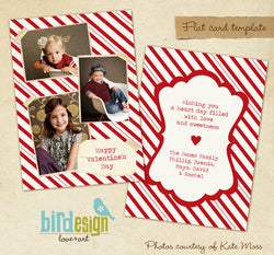 Valentine Photocard Template | Sharing love