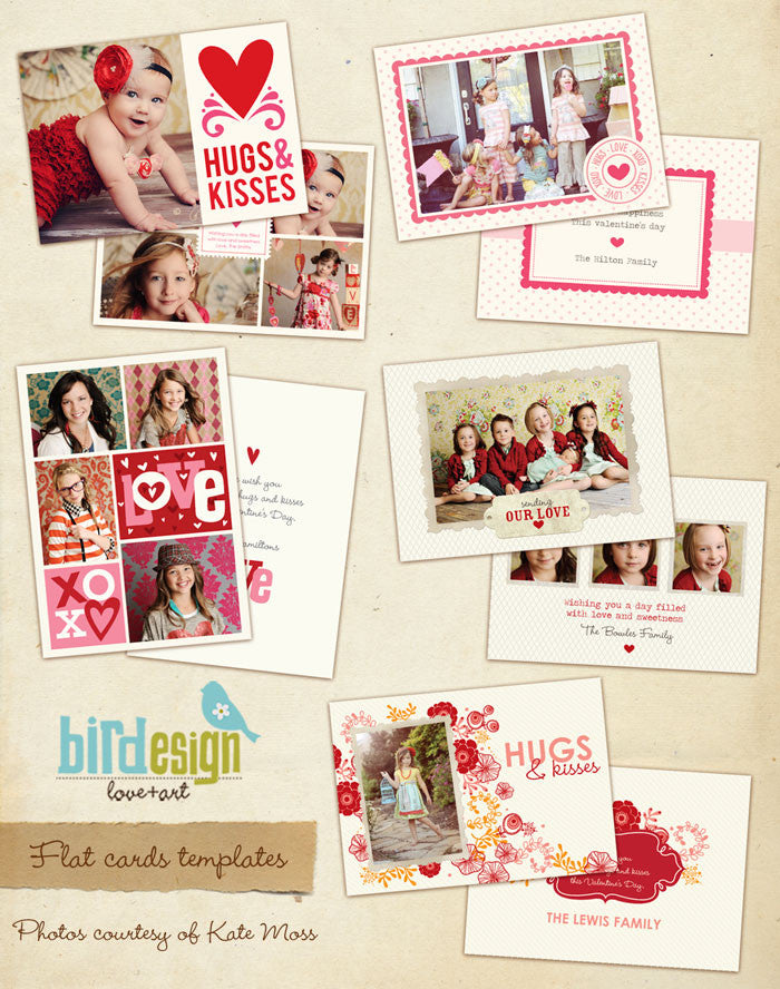 Valentine Photocards Bundle | Love dreams