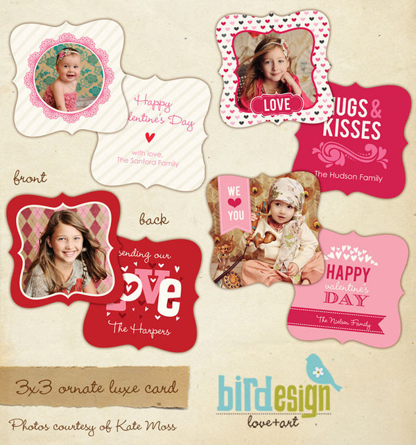 Valentine Photocards Bundle | Cute love