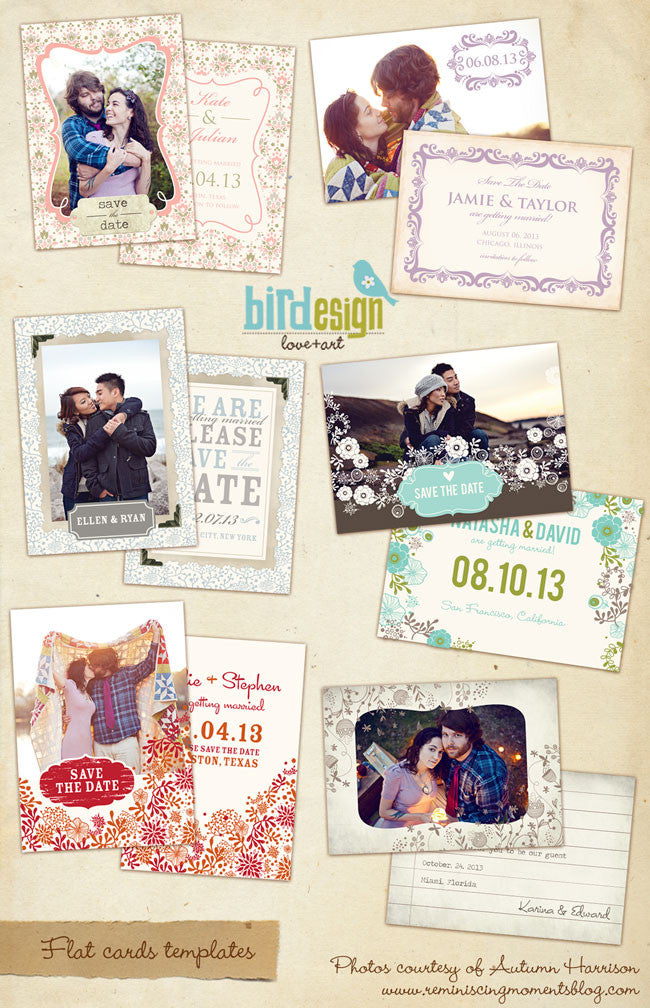 Love Promise | Save the date cards bundle