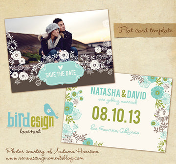 Together | Save the date card