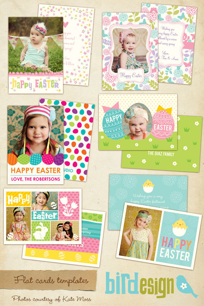 Easter photo cards bundle | Candy Hunter