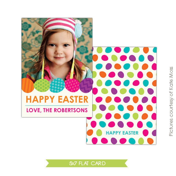 Easter photo card | Happy bunny