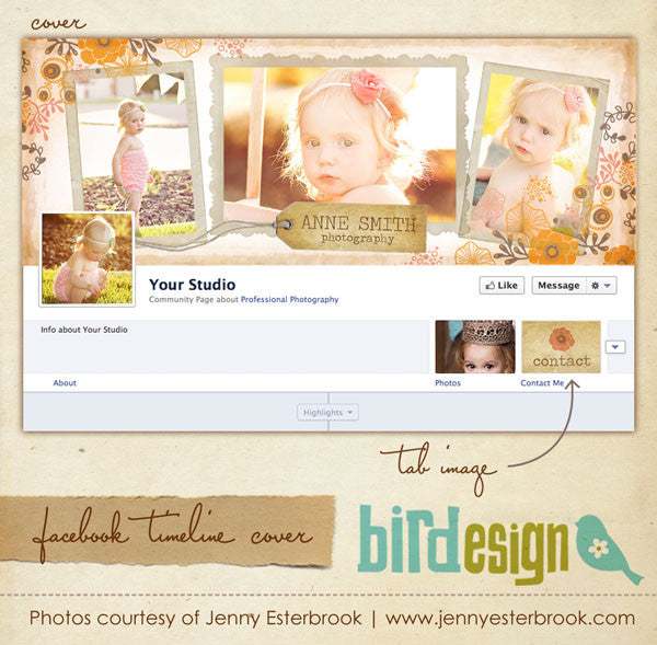 Facebook timeline cover | Vintage morning