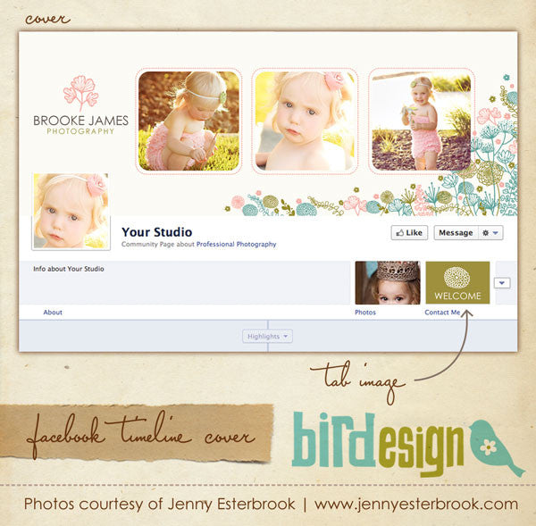 Facebook timeline cover | Spring time