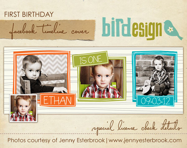 Facebook timeline cover | Vibrant party