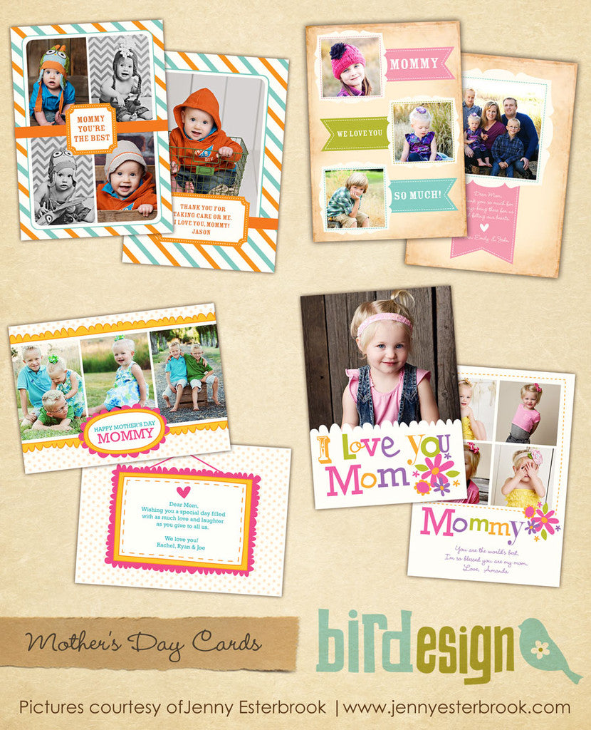 Mother's day Photocards | Modern mom