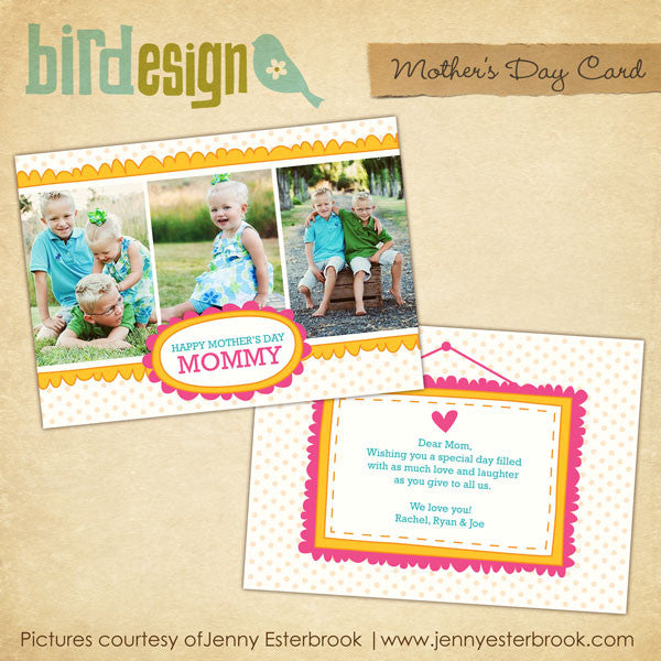 Mother's day Photocard | Lovely craft