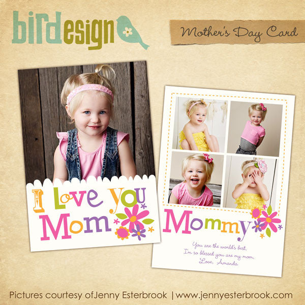 Mother's day Photocard | Amazing mom