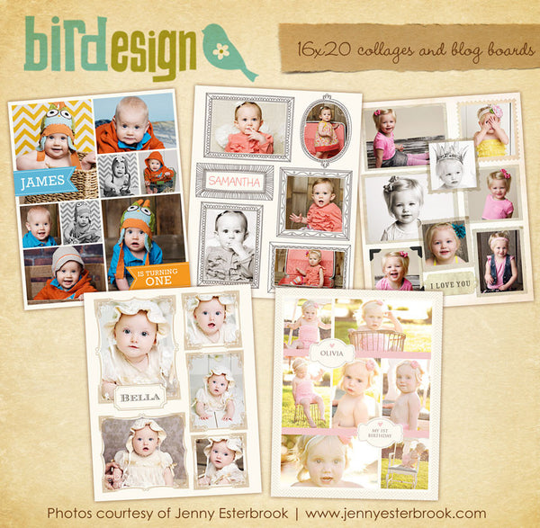 16x20 collages & blog boards bundle | Collection III