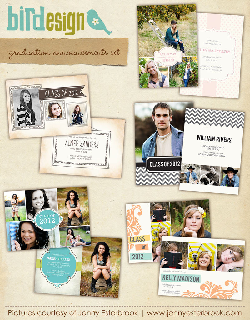 Graduation announcements bundle | Triumphs