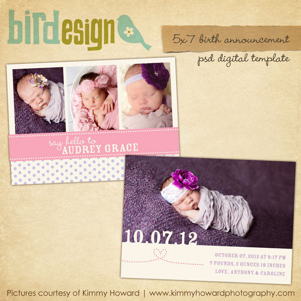 Birth Announcement | Charming day