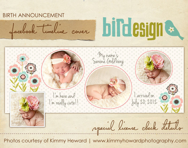 Facebook timeline cover | Blossom Dreams