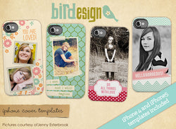 Lovely Life | Iphone cover templates