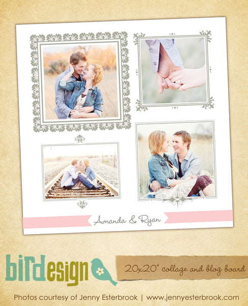 20x20 collage & blog board | Epic love