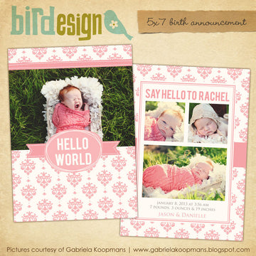 Birth Announcement | Lovely gift
