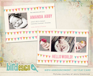 Birth Announcement | Birth Celebration