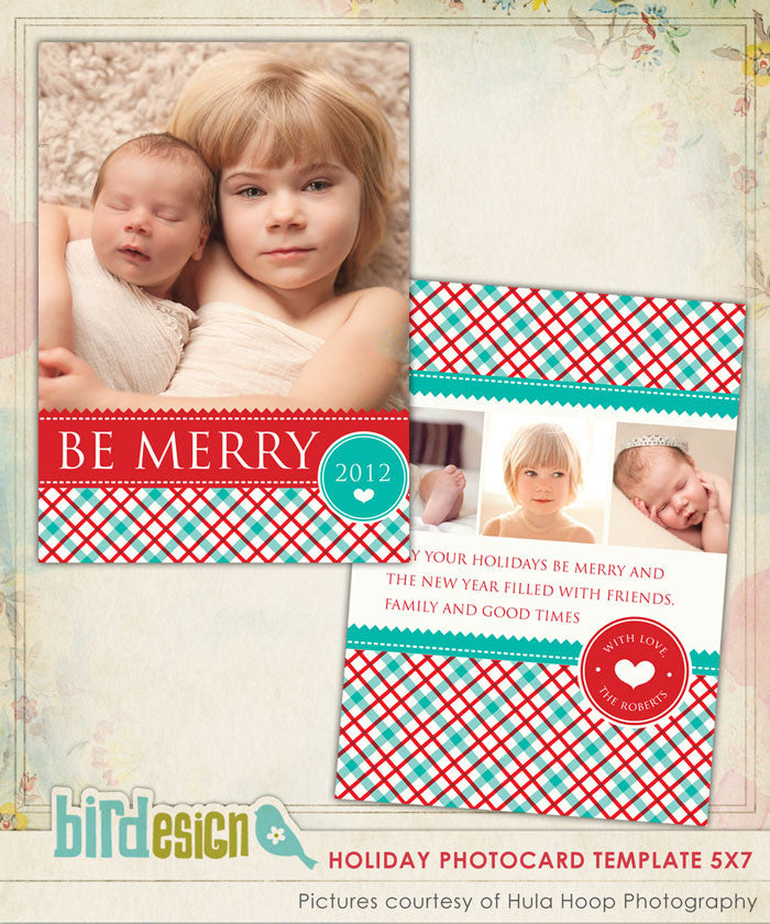 Holiday Photocard Template | Country Christmas