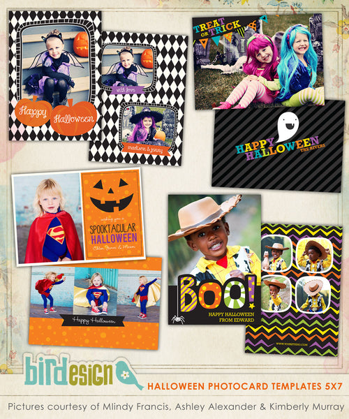 Halloween Photocards Bundle | Halloween Collection I