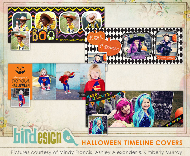 Facebook covers bundle | Halloween Grettings