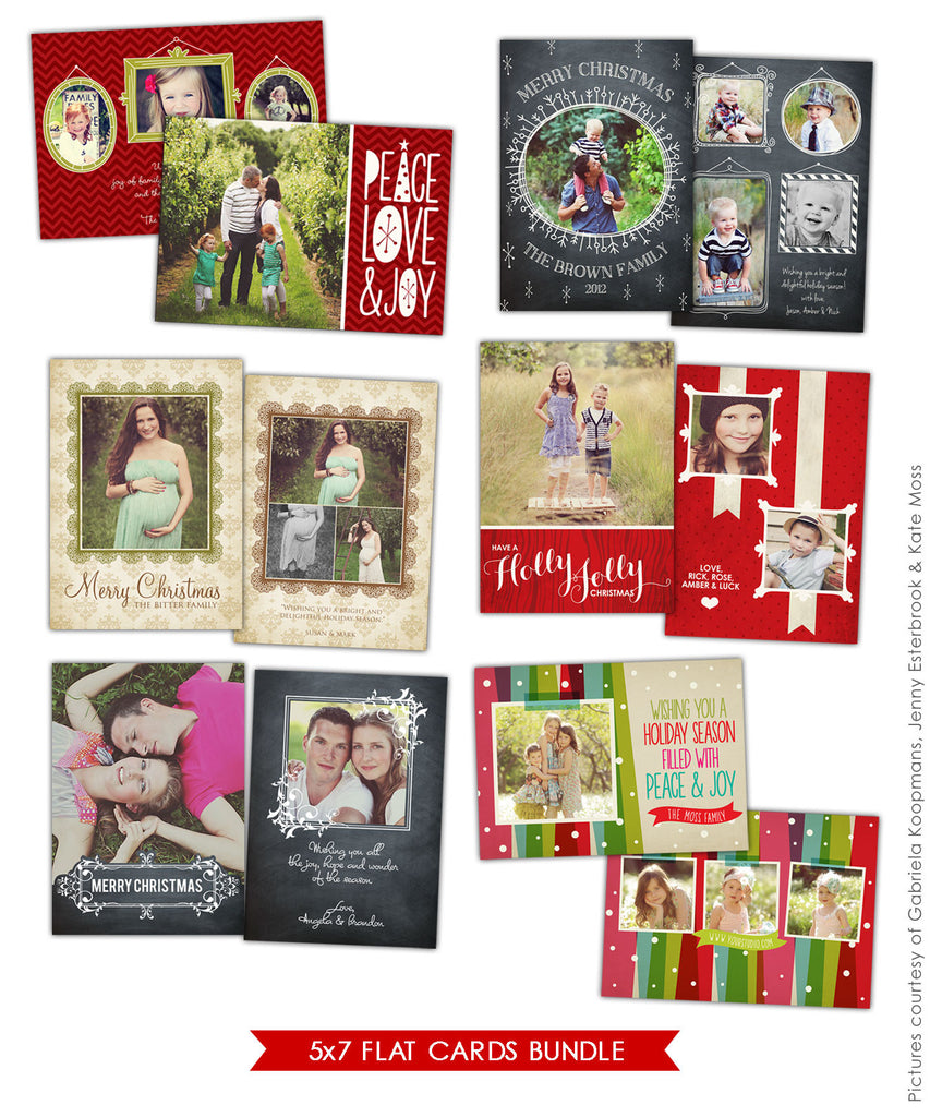 Holiday Photocards Bundle | Messages of Love