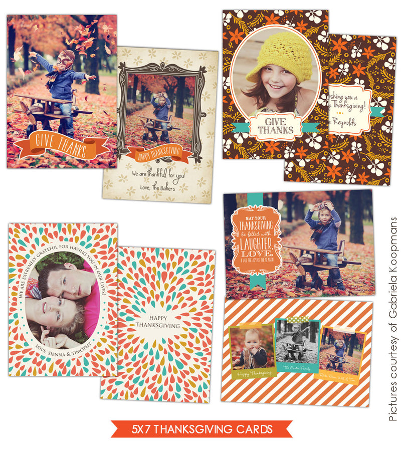 Thanksgiving Cards Bundle | Happy Autumn