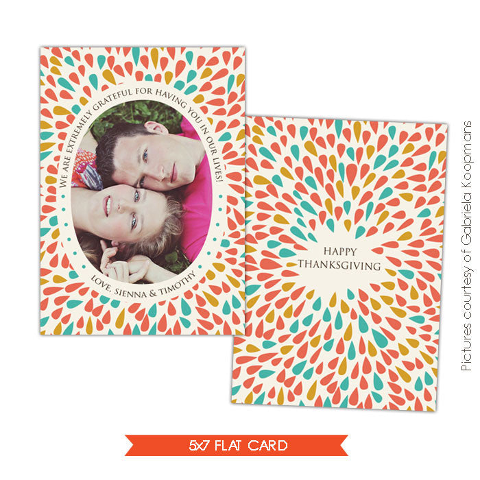 Thanksgiving Card Template | Bloom of Love