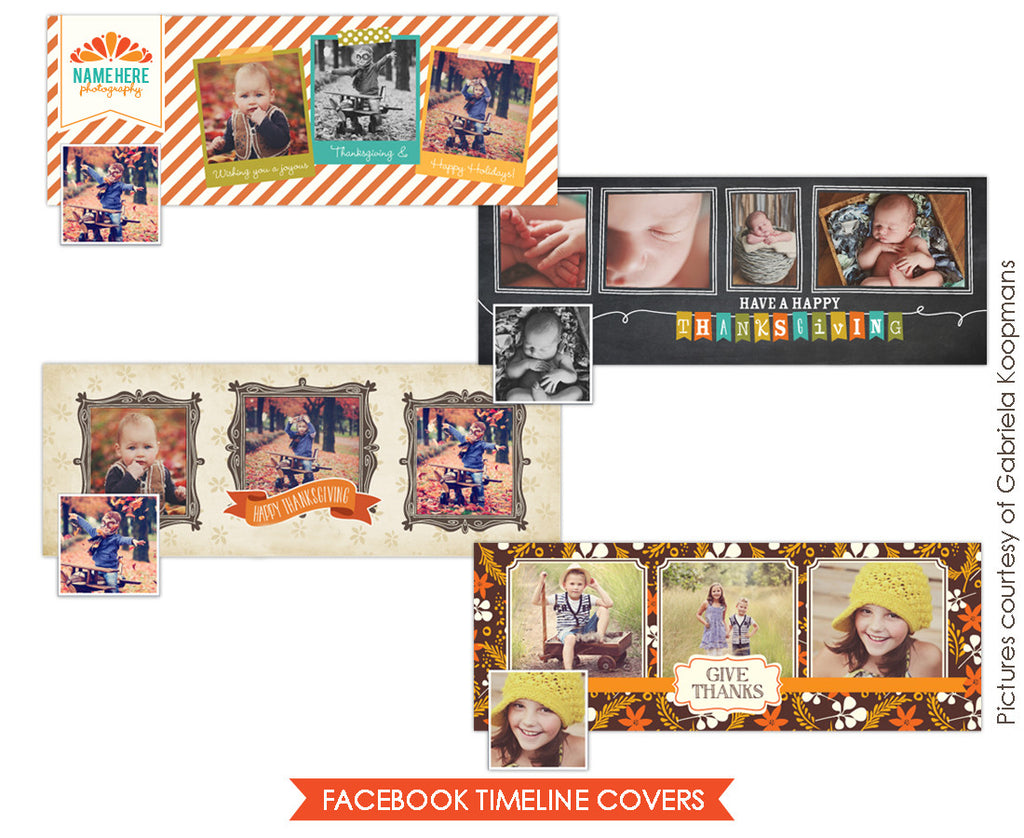 Facebook covers bundle | Thanksgiving greetings