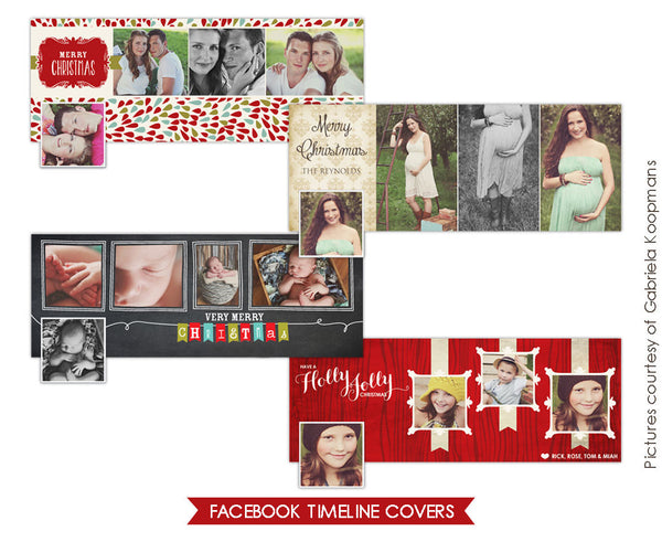 Facebook covers bundle | Christmas blessings