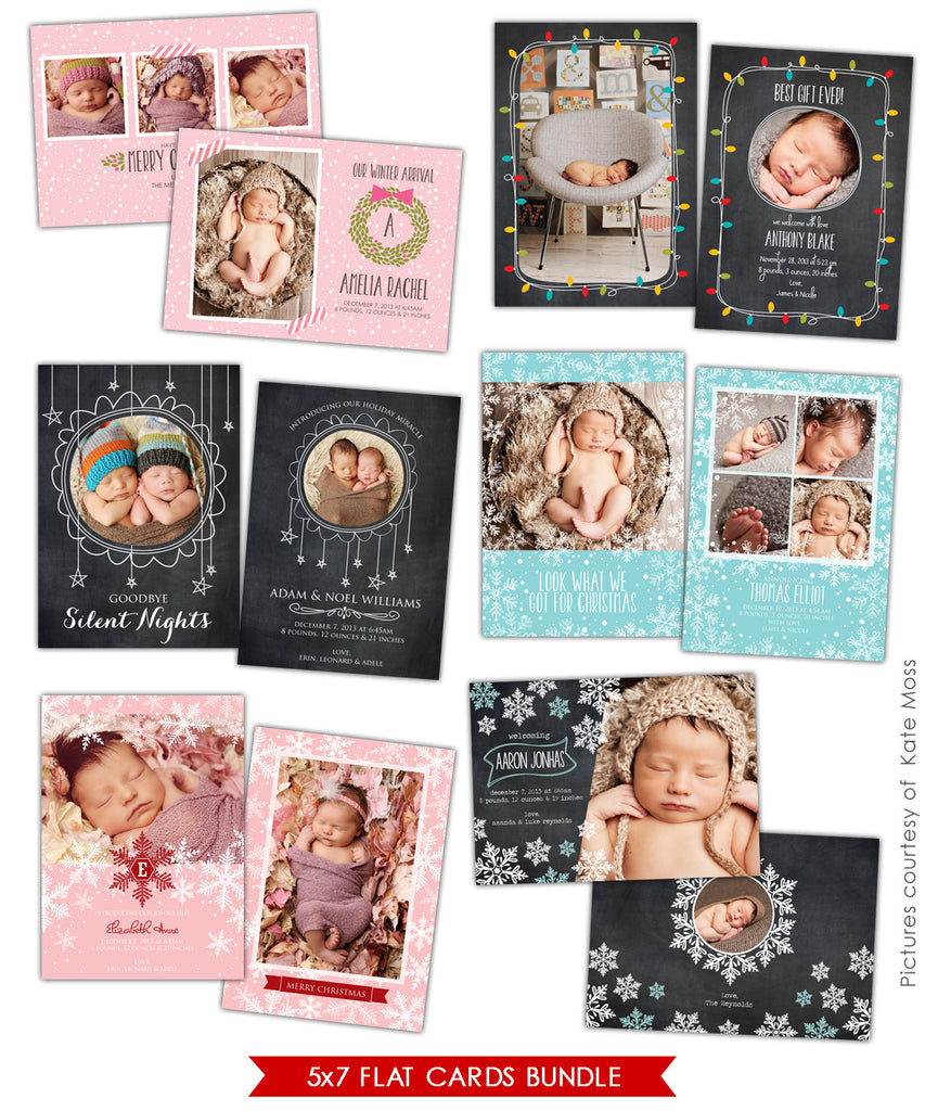 Holiday Photocards Bundle | Little gifts