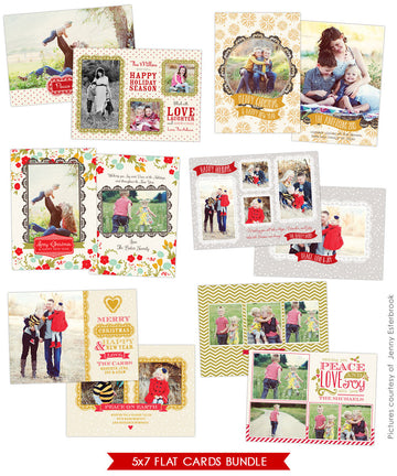 Holiday Photocards Bundle | Chic greetings