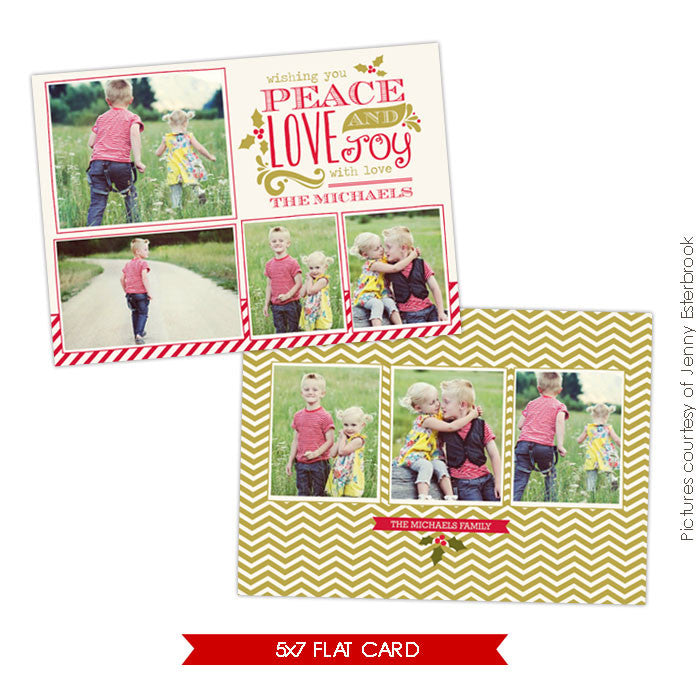 Holiday Photocard Template | Joyful year