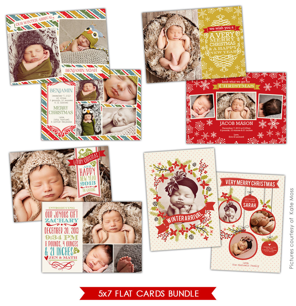 Holiday Photocards Bundle | Christmas surprises
