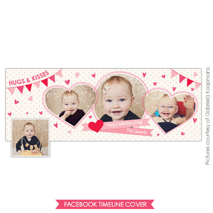 Facebook timeline cover | Valentine's party