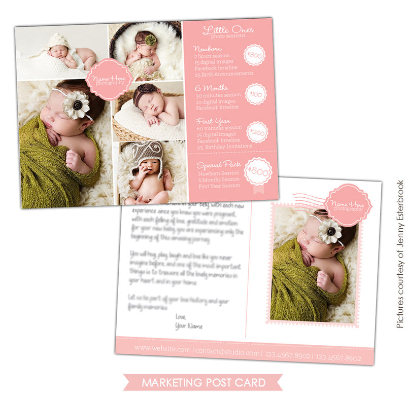 Photography Marketing Postcard | Little Ones